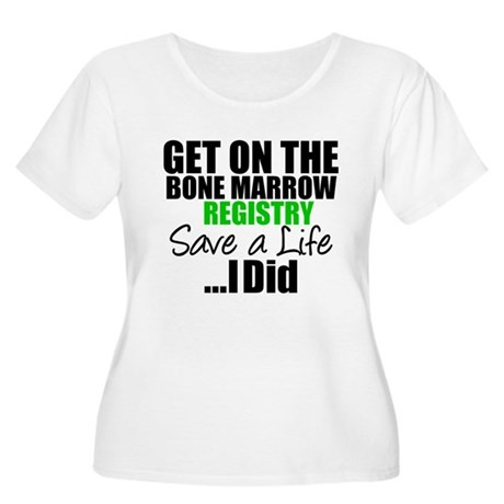 GetOnThe Bone Marrow Registry Women's Plus Size Sc