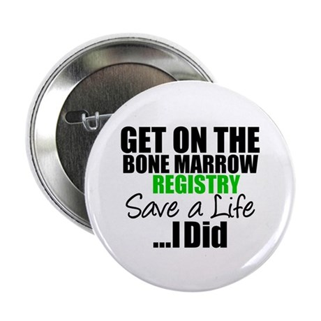 GetOnThe Bone Marrow Registry 2.25&quot; Button