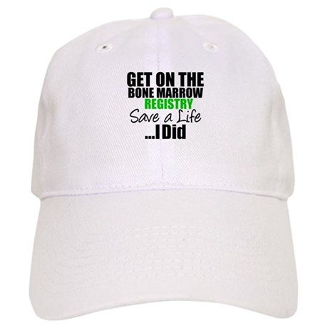 GetOnThe Bone Marrow Registry Cap