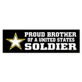 Proud Brother Soldier/blk Car Sticker