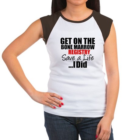 GetOn The BMT Registry Women's Cap Sleeve T-Shirt