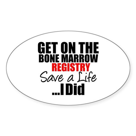 GetOn The BMT Registry Oval Sticker