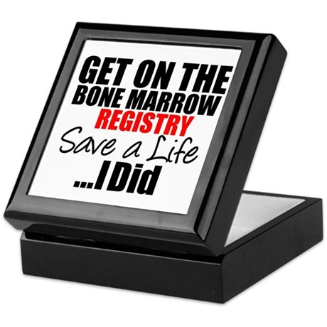 GetOn The BMT Registry Keepsake Box