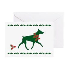 Doberman Christmas Cards (Pk of 10)