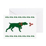 Pointer Christmas Cards (Pk of 10)