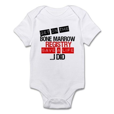 GetOnThe Bone Marrow Registry Infant Bodysuit