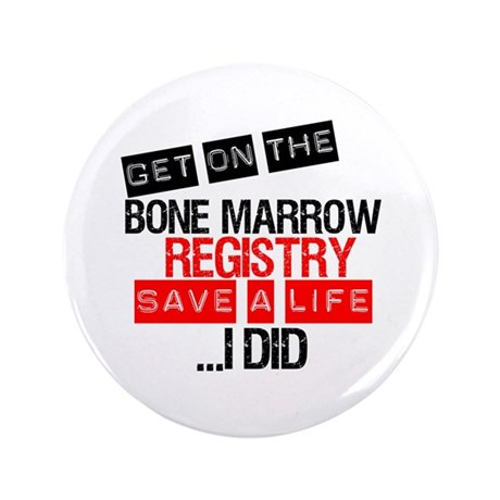 "GetOnThe Bone Marrow Registry 3.5"" Button"