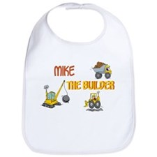 Mike the Builder Bib