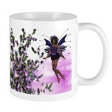 Purple Fairy w/Hummingbirds Mug