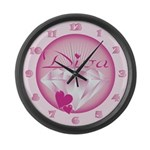 Diva Large Wall Clock