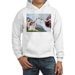 Creation/Maltese + Poodle Hooded Sweatshirt