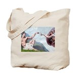 Creation/Maltese + Poodle Tote Bag
