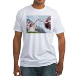 Creation/Maltese + Poodle Fitted T-Shirt