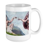 Creation/Maltese + Poodle Large Mug