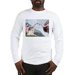 Creation/Maltese + Poodle Long Sleeve T-Shirt