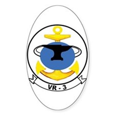 VR-3 Oval Decal