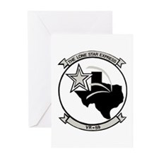 VR 59 Lone Star Express Greeting Cards (Pk of 10)