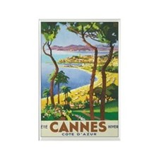 Cannes France Rectangle Magnet