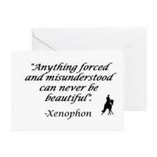 Cute Horse quotes Greeting Card