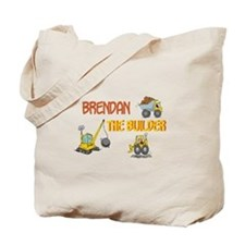 Brendan the Builder Tote Bag