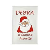 Debra Christmas Rectangle Magnet (100 pack)