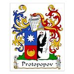Protopopov Family Crest Small Poster