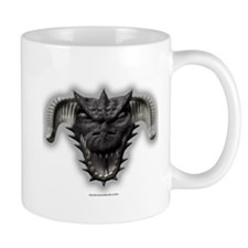 Black Dragon Head Mug