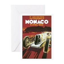 Monaco Grand Prix Greeting Card