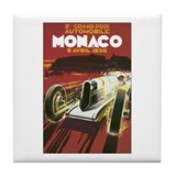 Monaco Grand Prix Tile Coaster
