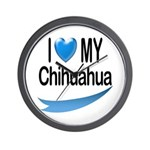 My Chihuahua Wall Clock