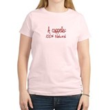 A cappella 100% Natural - Women's Pink T-Shirt
