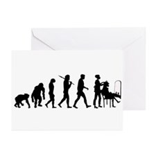 Hairdresser Stylist Hair Cutter Greeting Cards (Pk
