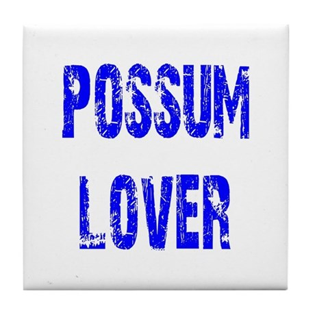 Possum Lover Tile Coaster
