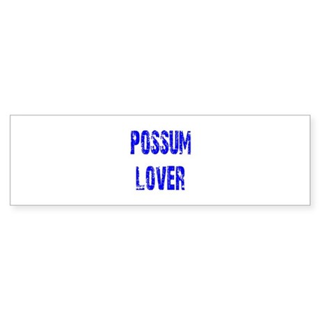 Possum Lover Bumper Sticker (50 pk)