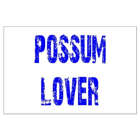 Possum Lover Large Poster