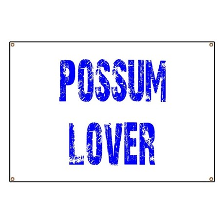 Possum Lover Banner
