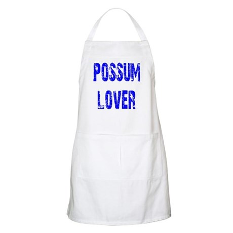 Possum Lover BBQ Apron