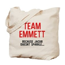 Team Emmett (Red) Tote Bag