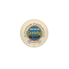 ATTITUDE OF GRATITUDE Mini Button (10 pack)