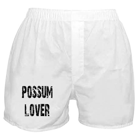 Possum Lover Boxer Shorts