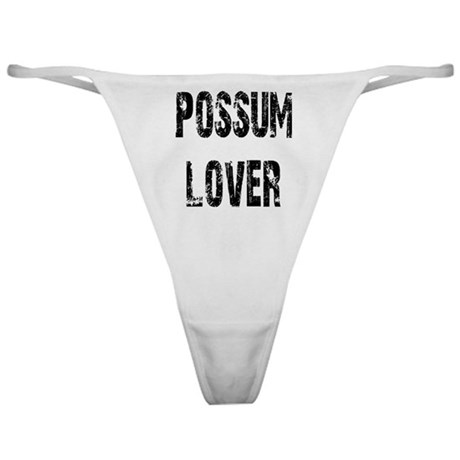 Possum Lover Classic Thong