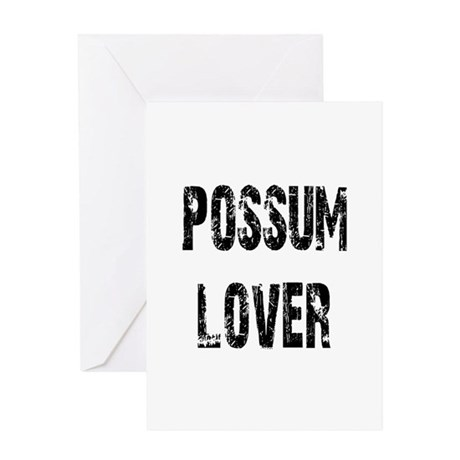 Possum Lover Greeting Card