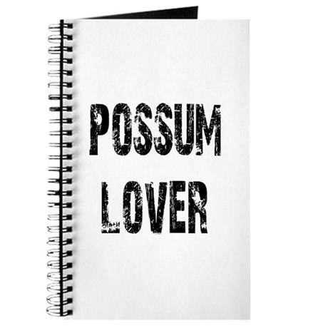 Possum Lover Journal
