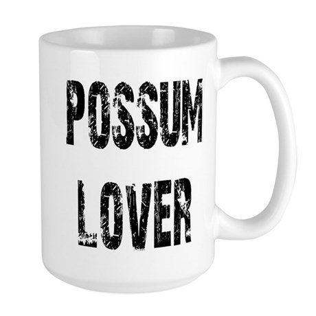 Possum Lover Large Mug