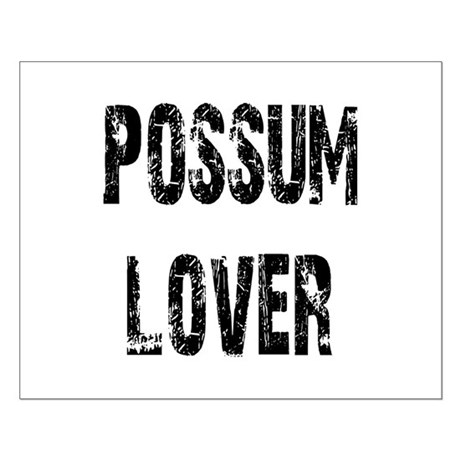 Possum Lover Small Poster