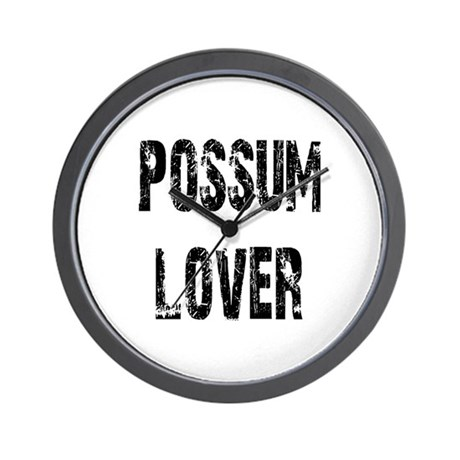 Possum Lover Wall Clock