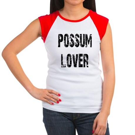 Possum Lover Women's Cap Sleeve T-Shirt