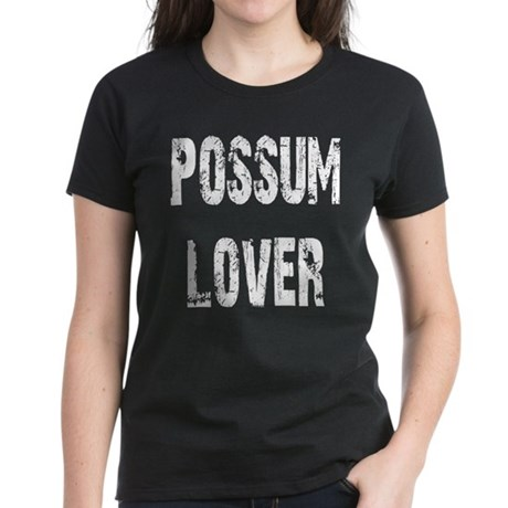 Possum Lover Women's Dark T-Shirt