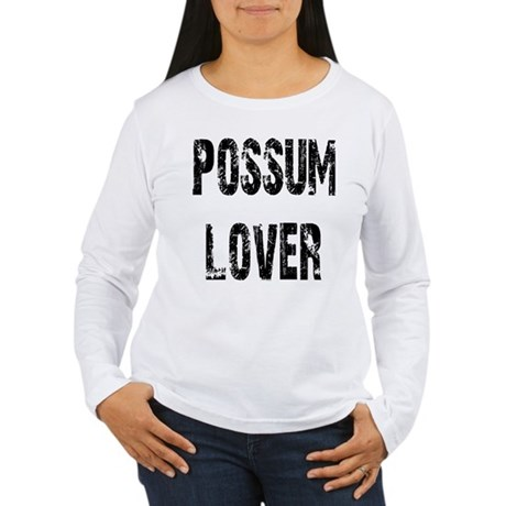 Possum Lover Women's Long Sleeve T-Shirt