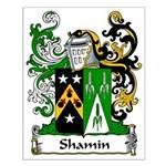 Shamin Family Crest Small Poster
